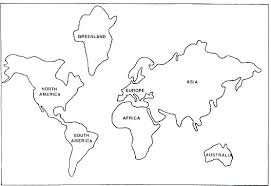 Coloring Pages World Map Coloring Pages To Print Treasure For
