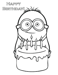 Birthday Coloring Page Birthday Coloring Page Birthday Coloring