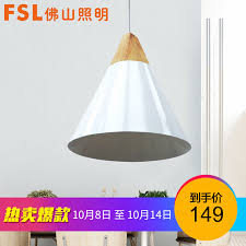 fsl foshan lighting dining chandelier nordic style lamps simple white single head paint white lampshade wooden decoration dining chandelier fcd80094 1