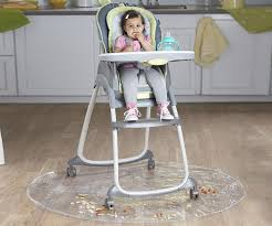 plastic baby high chair. amazon.com : nuby floor mat for baby, plastic play mat, waterproof high chair protector, splat multi-purpose playmat playing and feeding, baby
