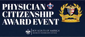 Michigan Crossroads Council Physicians Citizenship Award