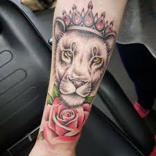 lioness tattoo. Beautiful Tattoo Image May Contain One Or More People Inside Lioness Tattoo