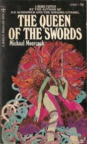 the queen of the swords michael moor cover by david mccall johnson the swordal coversbook coversbook cover artgraphic ilrationart