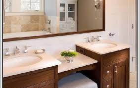 double vanity with makeup table. awesome best 25 double sink vanity ideas on pinterest throughout with makeup area table n