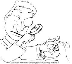Free Coloring Pages College Of Veterinary Medicine Purdue University