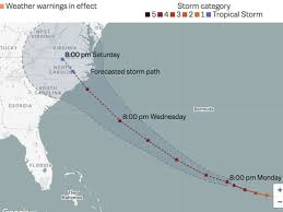 Hurricane Tracking Chart Florence Hurricane Florence Path Where The Storm Is And Where Its