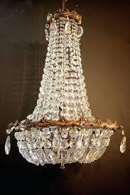 antique bronze crystal chandeliers