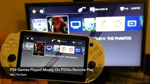PS4 Games Played Mostly on PSVita Remote Play