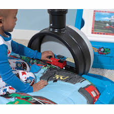Thomas the Tank Engine Toddler Bed with Storage - Walmart.com