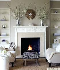 fireplace wall decor decorating ideas cozy fireplaces home brick