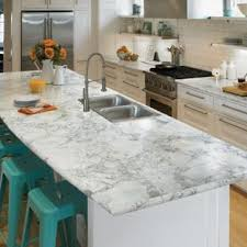 laminate kitchen countertops with white cabinets. Eat-in Kitchen - L-shaped Idea In Cincinnati With Laminate Countertops White Cabinets M