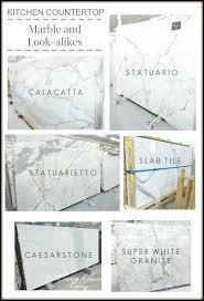 quartz countertops that look like marble best looks on carrara vs