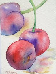 find this pin and more on fruit vegetables etc original watercolor painting abstract