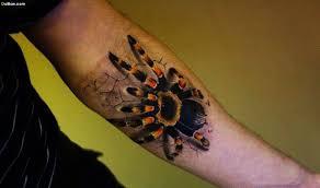 3d Spider Tattoo On Ripped Skin Golfiancom