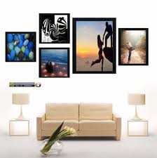 5 piece multi picture frame photo frame