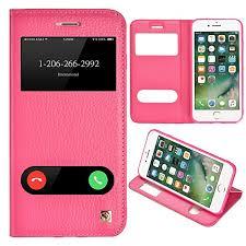 iphone 8 plus case iphone 7 plus case ultra thin flip cover case dual window