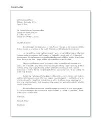 High School Principal Cover Letter Principal Cover Letter Examples ...