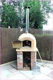 diy outdoor brick oven kit how to build an fireplace