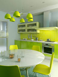 Bright Kitchen Color Bright Colors In Kitchen Cabinets Home Design Tips