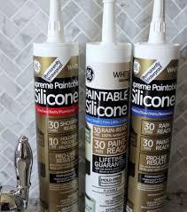 ge supreme paintable silicone caulk