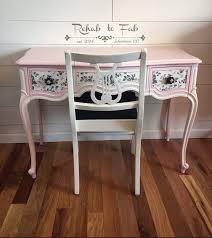 vintage furniture ideas. drexel vanity painted with heirloompaint posh pink u0026 french vanilla done by rehab to dream furniturevintage furniturefurniture ideasdistressed vintage furniture ideas