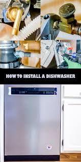 quick and easy guide to installing a dishwasher in 5 easy steps