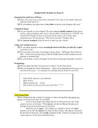 essay writers checklist  essay writers checklist