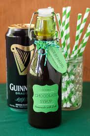 guinness chocolate syrup for st patrick s day