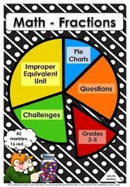 Math Fractions Pie Charts Math Stories Challenges