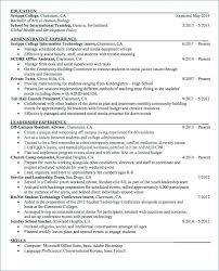 Sample Resume For Nanny Sample Resume For Nanny Personal Assistant ...