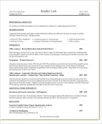 Administrative Assistant Resume Technical Skills Key For