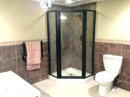 stand up shower ideas beautiful doors winsome bathroom modern large