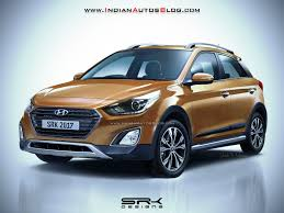2018 hyundai hatchback. delighful hatchback 2017 hyundai i20 active facelift render and 2018 hyundai hatchback