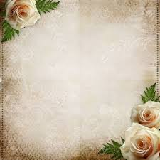 Vintage Beautiful Wedding Background Stock Photo Picture And