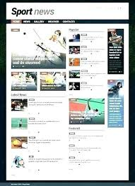 Newspaper Web Template Free News Site Template Bootstrap