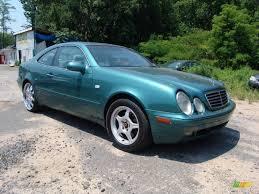 1998 Mineral Green Metallic Mercedes-Benz CLK 320 Coupe #50268181 ...