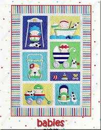 Babies quilt pattern by Amy Bradley Designs