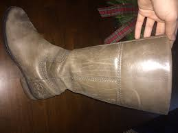 scratched boot boot
