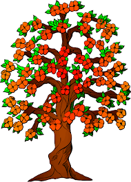 apple tree clipart png. flowered tree clip art at clker.com - vector online . apple clipart png