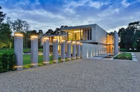 contemporary architecture. Jura Residence On Wentworth Estate Is A Fine Example Of Contemporary Architecture That Breaks The Mould In An Almost Entirely Traditional Architectural T