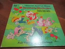 Vinyl Record Condition Chart Vintage 1981 Vinyl Lp Kids Record Strawberry Shortcake Exercise And Fun Album Excellent Condition With Original Chart 18639