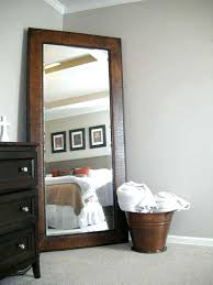 white leaning floor mirror.  Mirror Tall Floor Standing Mirror Amazing Big Pewter From Next Wall Inside 13  For White Leaning L