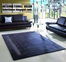 dark blue carpet rug in turkish model tastes