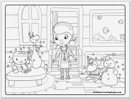 Doc Mcstuffins Christmas Coloring Pages Az Coloring Pages Doc