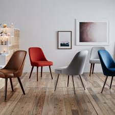 beautiful mid century dining chairs of leather chair west elm au regarding miraculous mid century modern