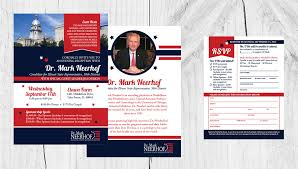 political fundraiser invite dr mark neerhof political fundraiser invite rsvp dicianni design