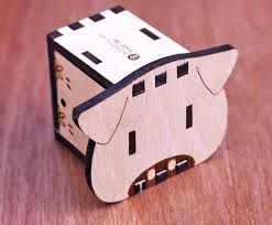 Youtang wooden music box musical piano, diy make yr own song include a punch and 3 music papers, 1 has musical note and 2 are blank and you can create your own song! Kokomu Piggy Diy Music Box Kits Wooden Music Box For Her Shop Kokomu Music Box Diy Kits Pinkoi