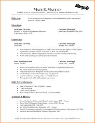 Best Ideas Of Examples Of Nursing Skills For Resume Resume Cv