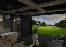 Golf Simulator Lighting Golf Simulator Installation Services