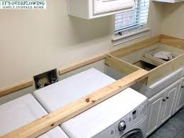 laundry room over washer and dryer plywood magnificent countertop ideas decorating cupcakes without icing beautifu plywood countertop ideas
